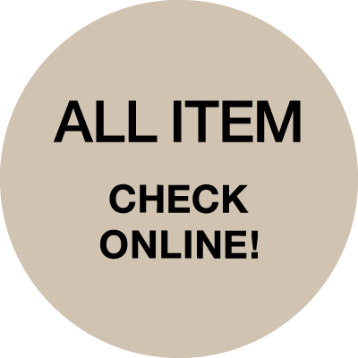 ALL ITEMS CHECK ONLINE!